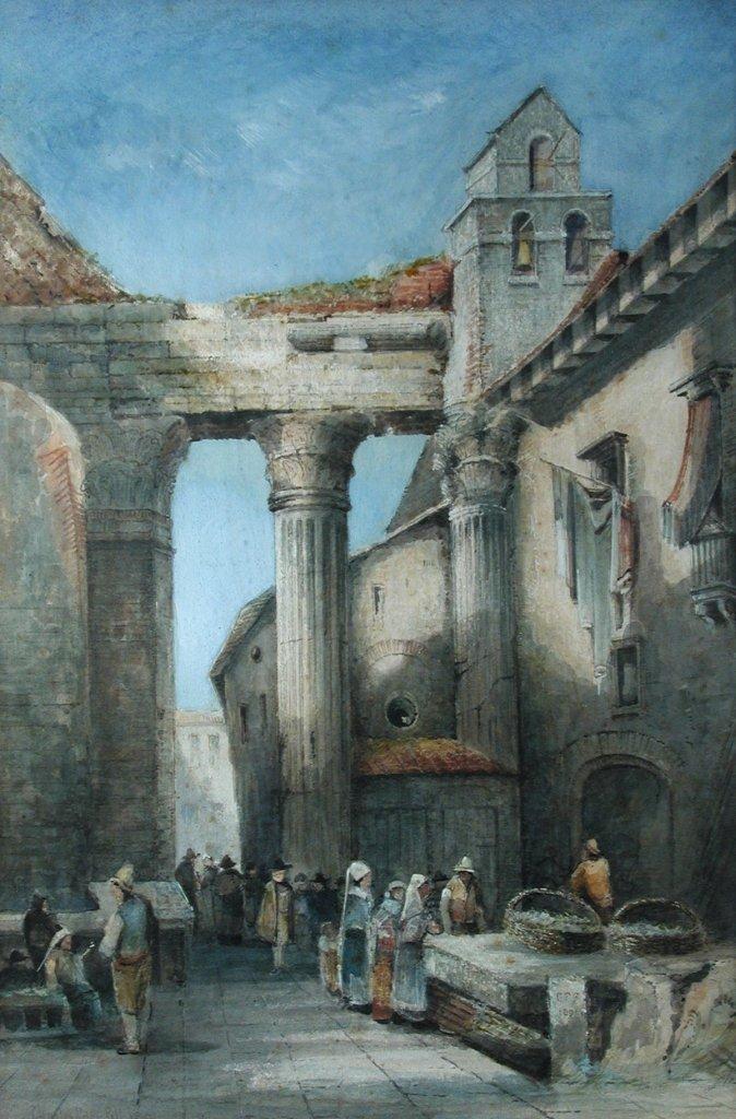 Charles Peter Pill (British, 19th Century) Italian