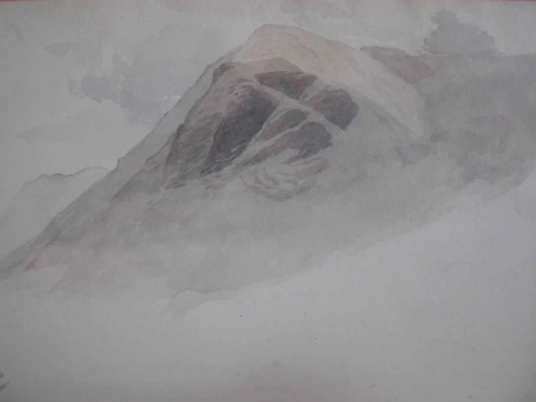 Follower of John Ruskin (British, 1819-1900) High Crag,