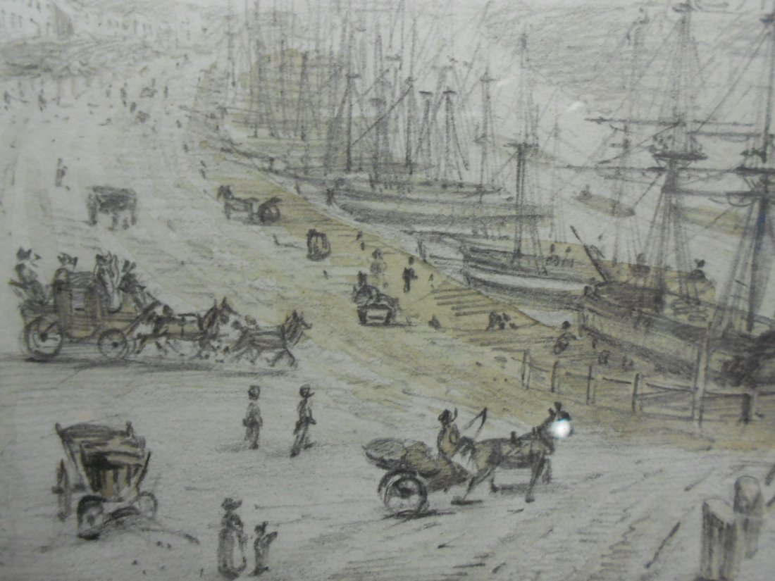 William Daniell (British, 1769-1837) Yarmouth Quay