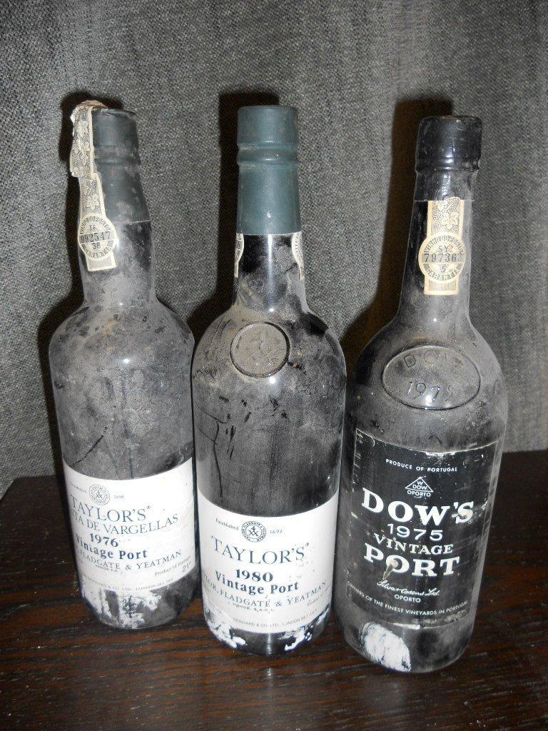 Vintage port, seven bottles. Quinta do Noval 1963, Dows - 2