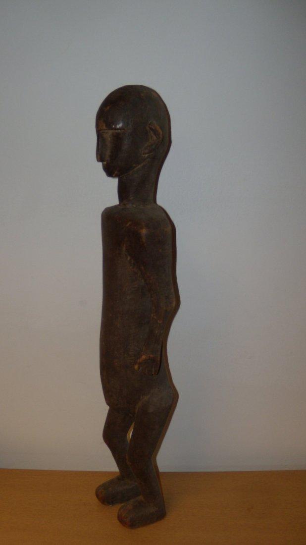 A Bamani, Mali wooden tall figure (1026)