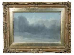 Circle of John Constable (British, 19th Century) Cloud