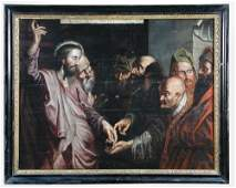 After Sir Peter Paul Rubens (1577-1640) Christ and the