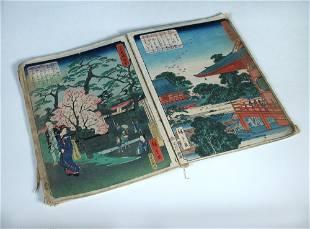 *Amended Description* Hiroshige II, an album of thirty