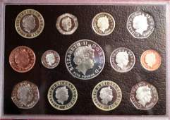 A 2007 Royal Mint proof collection