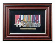 Brigadier C R Britten, OBE, MC,
