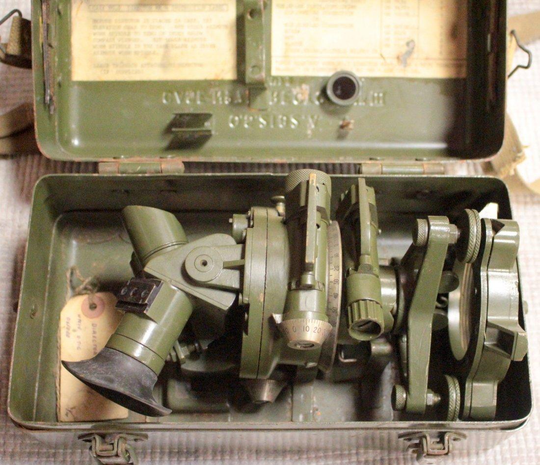A Mk V Director No.7 Artillery fire control sight, in a