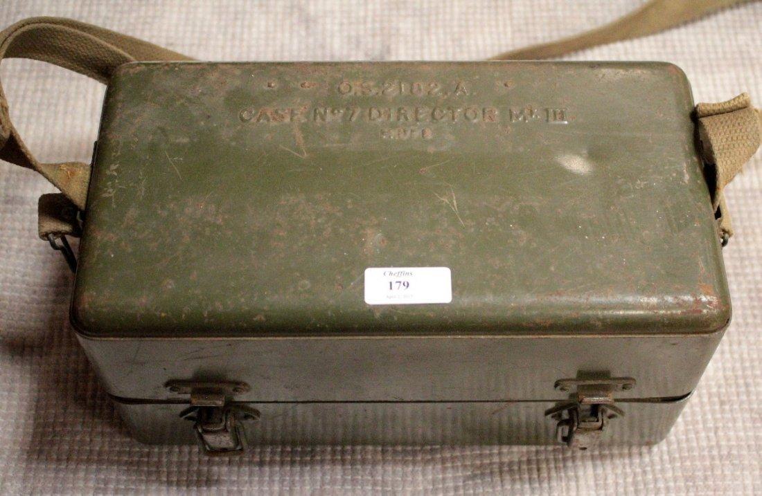 A Mk V Director No.7 Artillery fire control sight, in a - 2