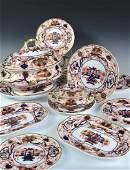An extensive Spode Imari palette dinner service,