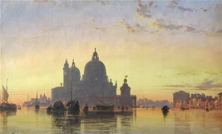 Edward William Cooke, RA  (British, 1811-1880) Venice