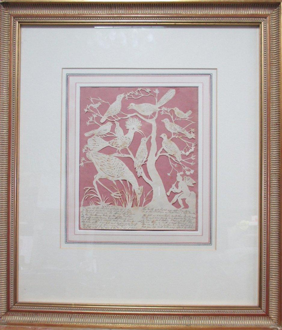 Elizabeth Cobbold (British, 1767-1824)  - A paper cut - 2
