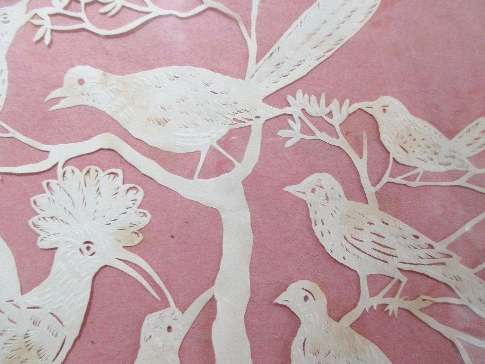 Elizabeth Cobbold (British, 1767-1824)  - A paper cut - 3