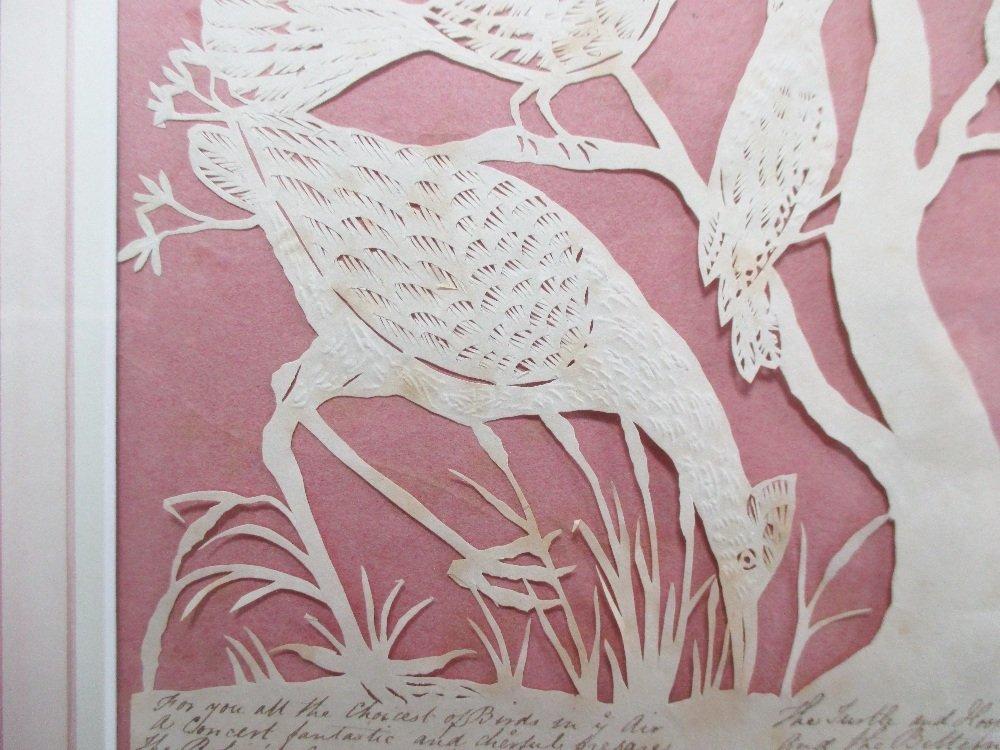 Elizabeth Cobbold (British, 1767-1824)  - A paper cut - 4