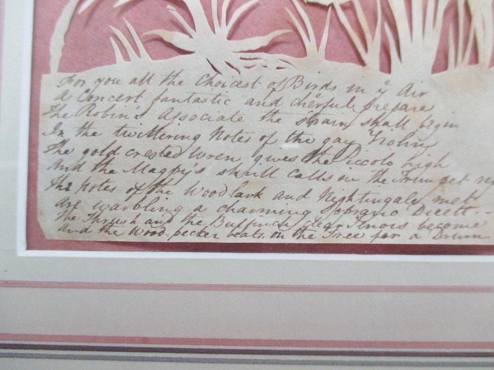 Elizabeth Cobbold (British, 1767-1824)  - A paper cut - 5