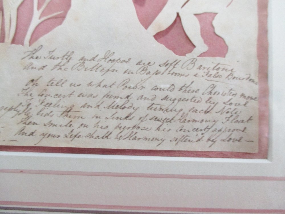 Elizabeth Cobbold (British, 1767-1824)  - A paper cut - 6