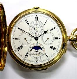 By Charles Frodsham - a late 19th century 18ct gold