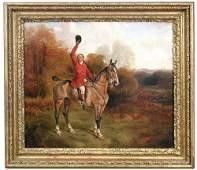 John Arnold Wheeler (British, 1821-1903) View Holloa -