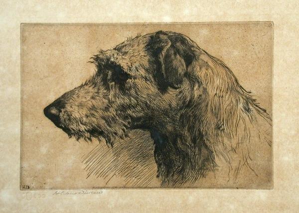 599: Herbert Thomas Dicksee RE, etching