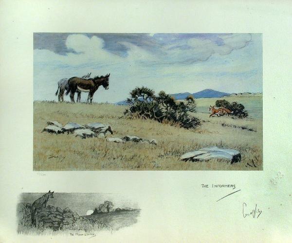 601: Charles Johnson Payne (Snaffles), colour lithograp