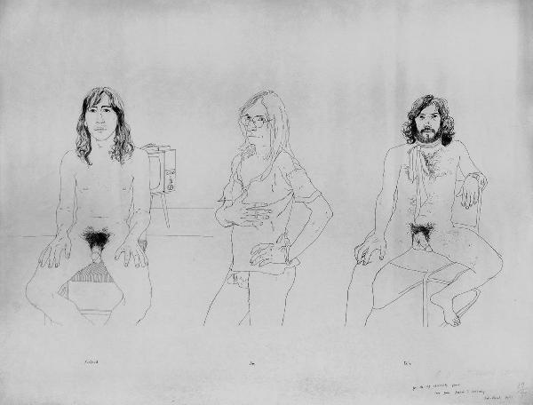 603: David Hockney, lithograph
