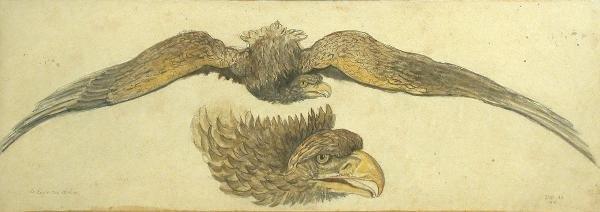 617: James Ward RA, watercolour