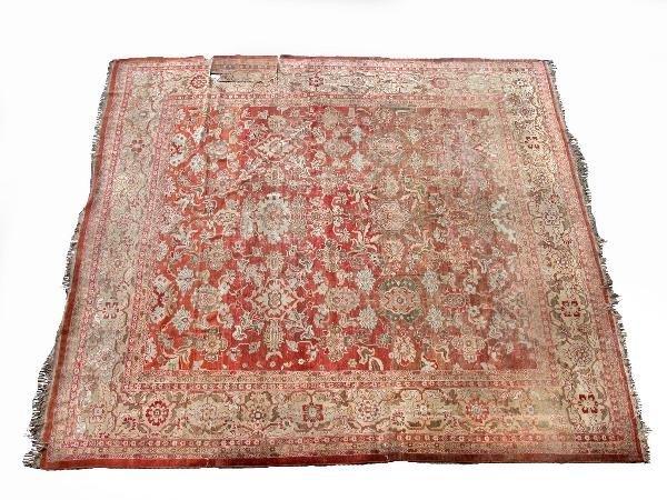 1181: An Agra wool carpet