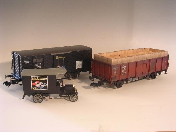 2001: Marklin gauge 1  - Museumwagen 1995   85895