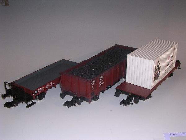 2008: Marklin gauge 1  - Flatbed wagon 5836 etc