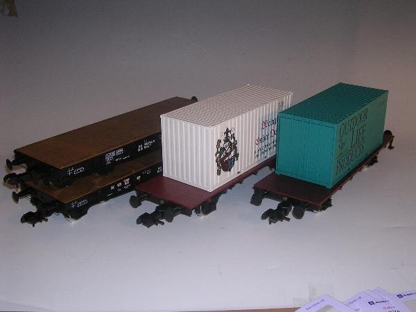 2009: Marklin gauge 1  -  2 x Schwertransportwagen Rimm