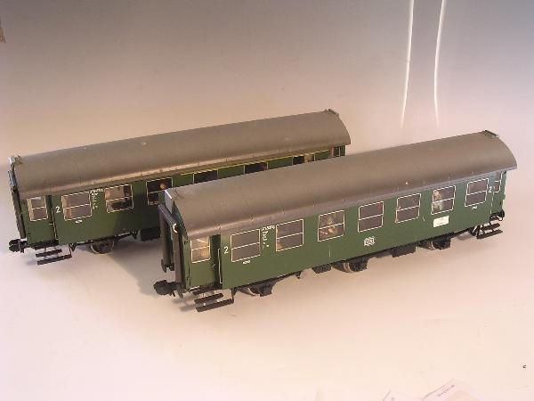 2014: Marklin gauge 1  - Three axle coach 5809 etc