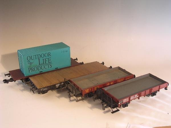 2019: Marklin gauge 1  - Containerwagen 5414 etc