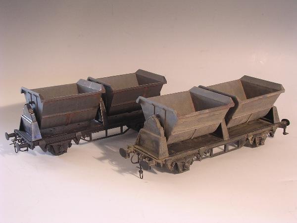 2020: Marklin gauge 1  - 2 x Kippwagen 5859