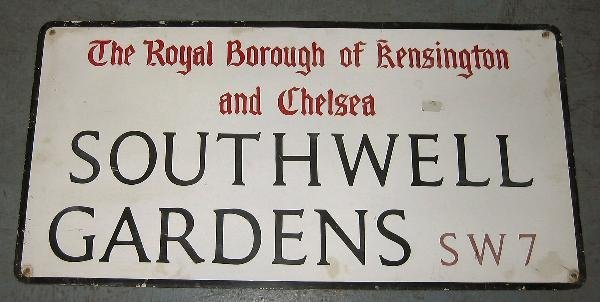 1014: The Royal Borough of Kensington & Chelsea, Southw