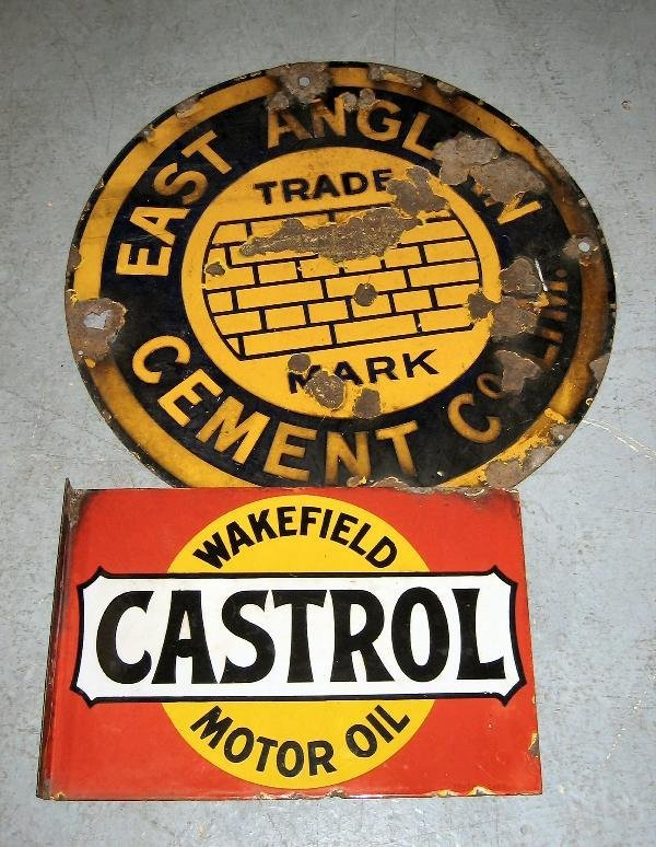 1016: Wakefield Castrol- a 4 colour double sided enamel