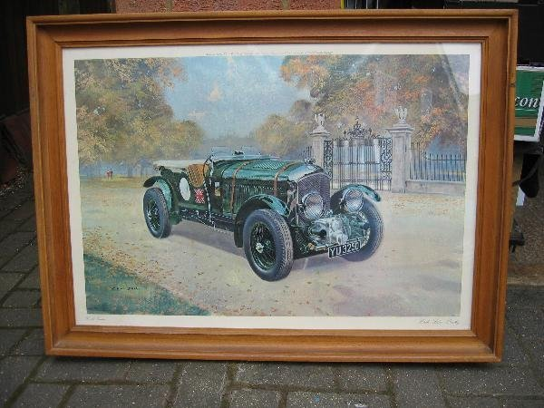 1023: Bentley- a Gerald Coulson print