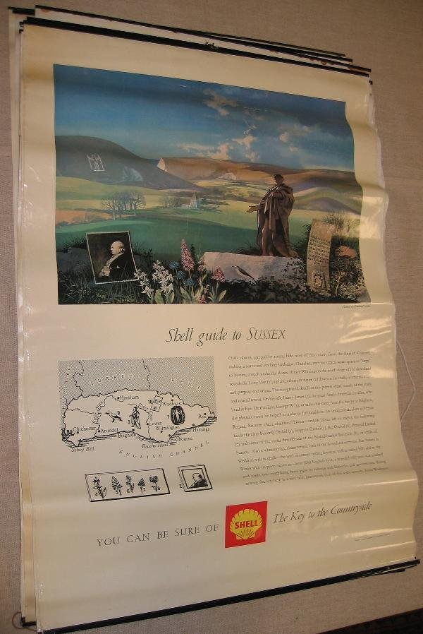 "1026: Shell posters- 18 of the ""key to the Countryside"""