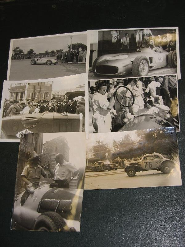 1029: Mercedes, Citroen etc.- 6 original press photos,