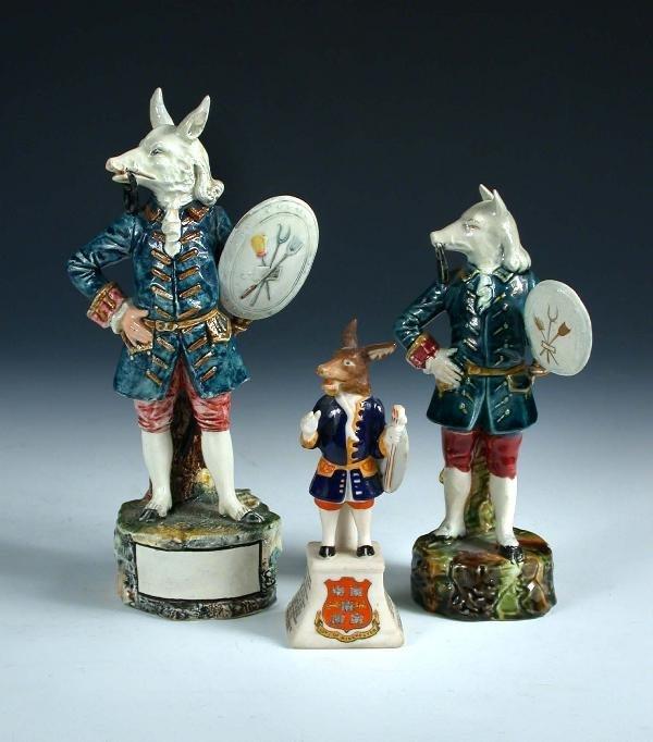 18: Three Trusty Servant figures