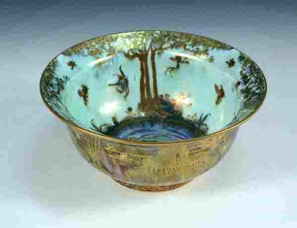 A Wedgwood fairyland lustre Kang Hsi bowl