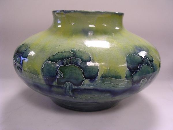 217: A Moorcroft Hazeldene vase for Liberty & Co.