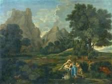 362: After Nicolas Poussin Landscape with Polyphemus oi