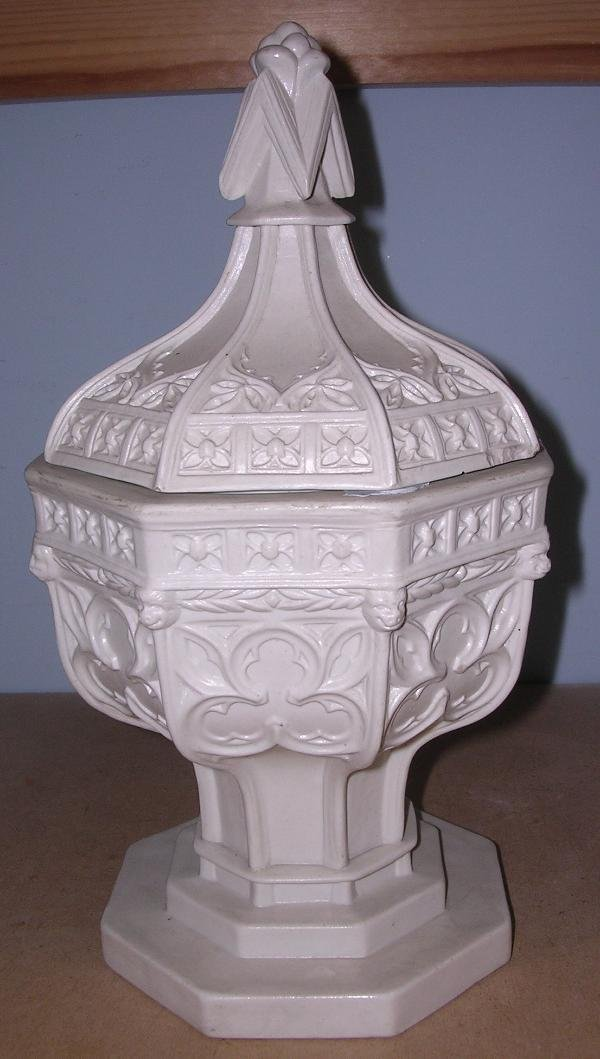 7: WEDGWOOD FONT AND COVER
