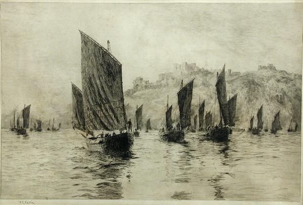 692A: WILLIAM LIONEL WYLLIE (1851-1931)