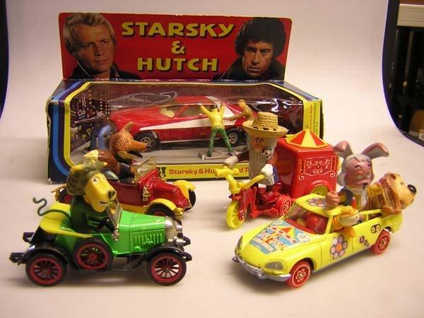 1007: CORGI 292 STARSKY AND HUTCH FORD TORINO etc