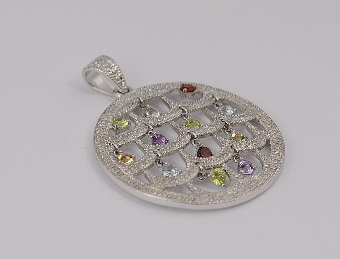 Sterling Silver Pendant - 2