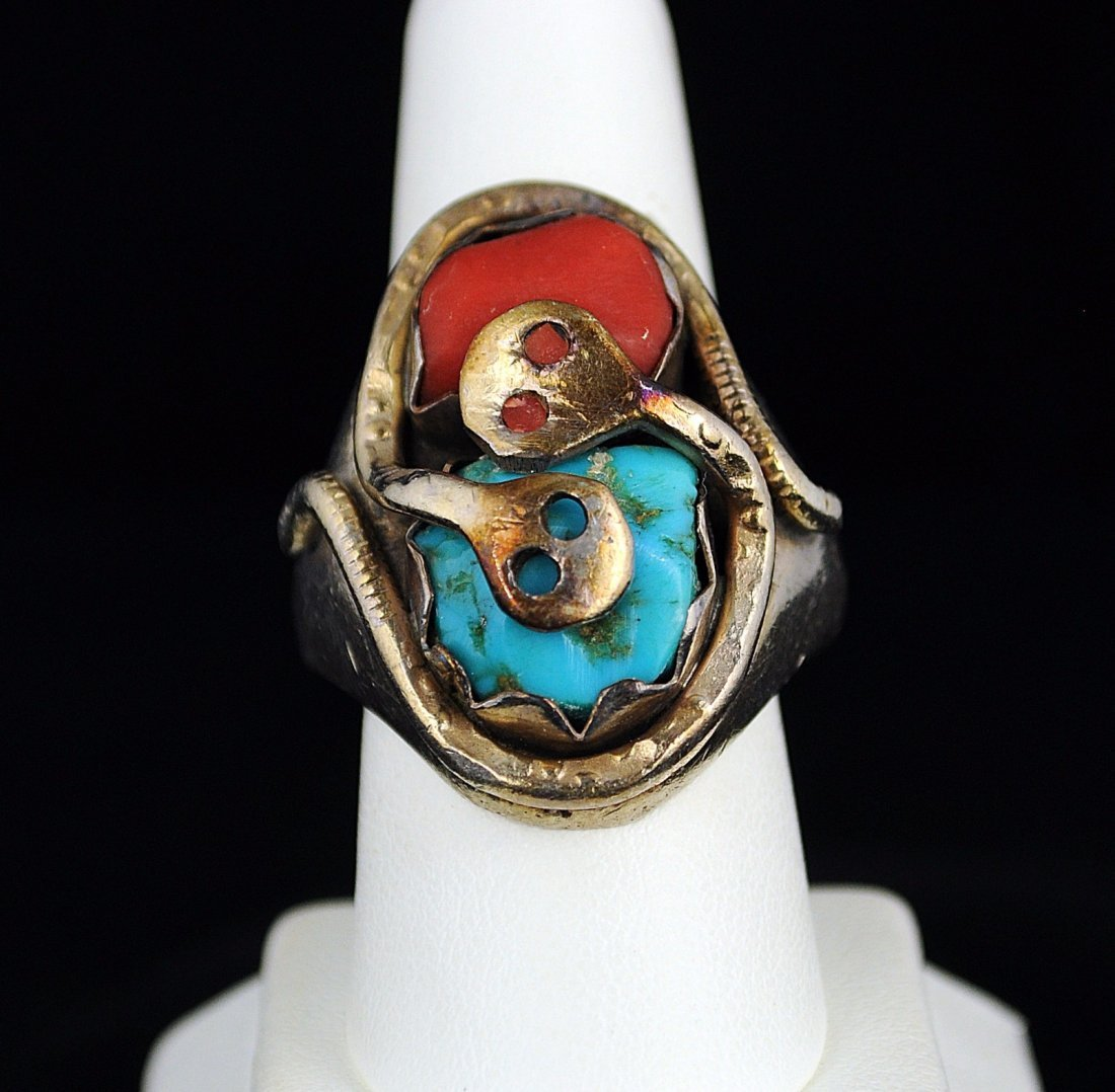Effie C.  Zuni Ring