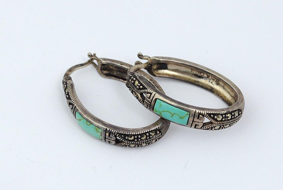 Sterling Silver Earrings - 2
