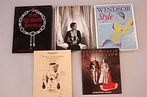 1010: A group of royalty related books and catalogues,