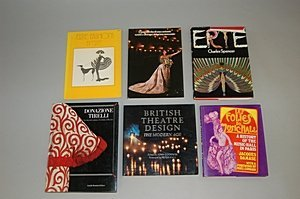 1012: A group of theatre costume books, six, including: