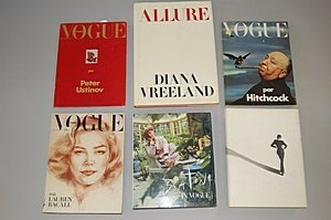 1013: A group of six 'Vogue' books, including: 'In Vogu